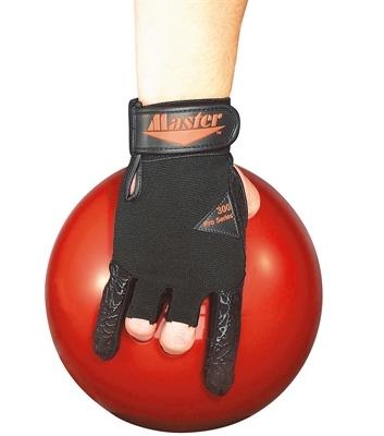 Un gant de bowling à 2 doigts protégés